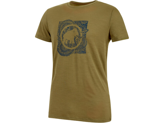 Mammut Alnasca T-Shirt Homme, olive